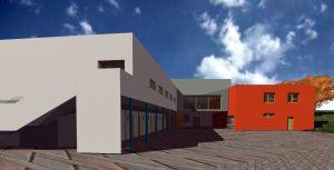 vizualizace konečné verze po doplnění balkonů