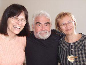 Marie Blažková, Bob Baštecký, Bohunka Baštecká