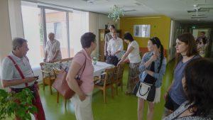 Mödling, paliativní stanice v komplexu centra pro seniory
