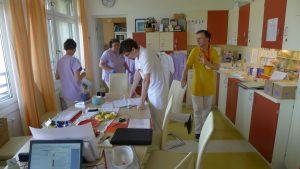 Vídeň, Krankenhaus Göttlicher Heiland  (sesterna paliativní stanice)