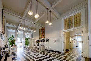 Sanatorium Josefa Hoffmanna-vstupní hala
